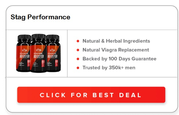 Stag Performance Testosterone Booster Reviews